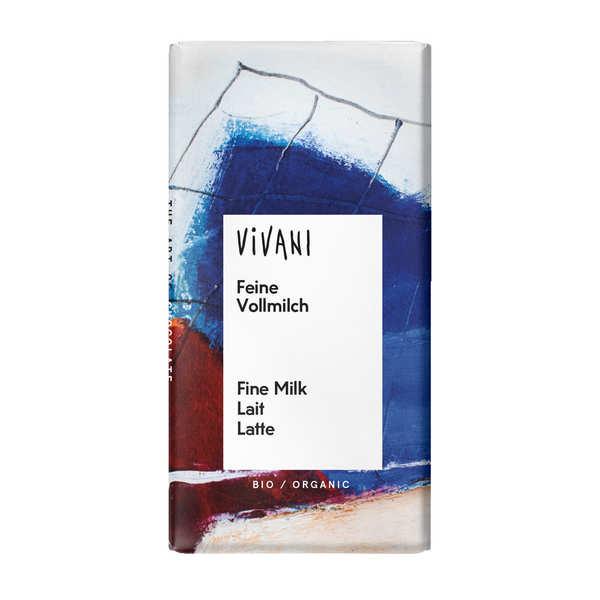 Vivani Chocolat au lait bio en petites tablettes - Vivani - Mini-tablette de 12,5g