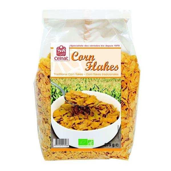 Celnat Corn flakes bio - 3 sachets de 375g