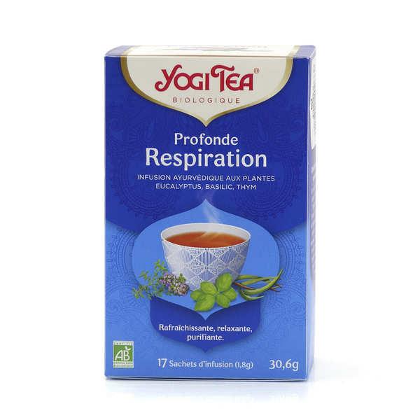 Yogi Tea Infusion bio Profonde Respiration - Yogi Tea - 5 boites de 17 sachets