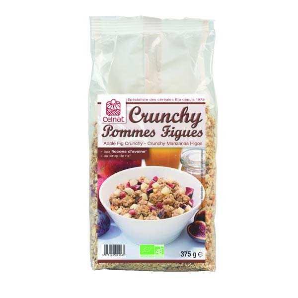 Celnat Crunchy pommes figues - Sachet 500g
