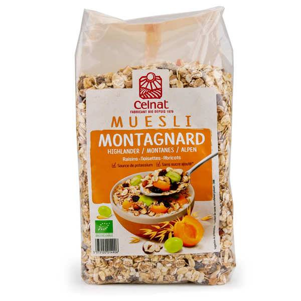 Celnat Muesli montagnard bio - 3 sachets de 1kg