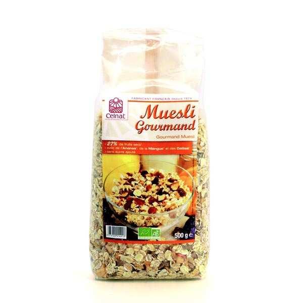 Celnat Muesli gourmand bio - Lot 3 sachets de 500g
