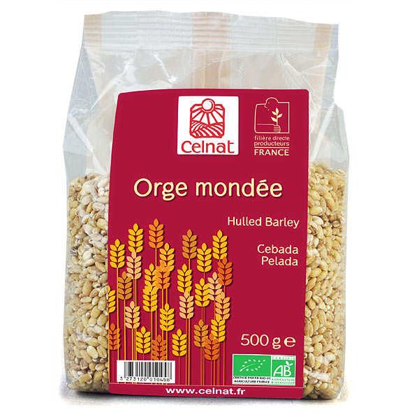 Celnat Orge mondée bio - Lot 4 sachets de 500g