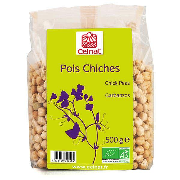 Celnat Pois chiches bio de France - Sachet 500g