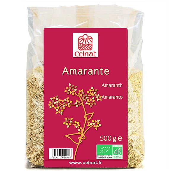 Celnat Amarante bio - Lot 4 sachets de 500g