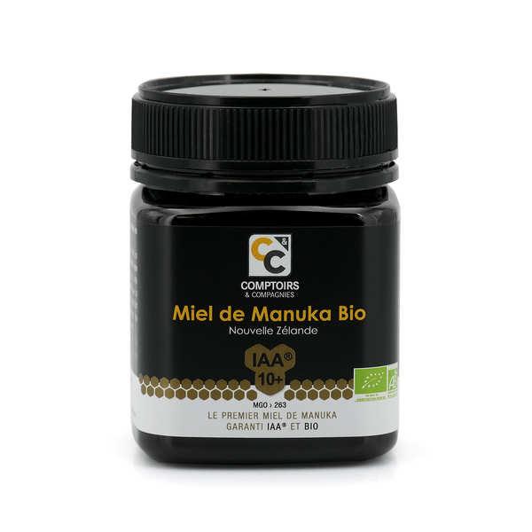 Comptoirs et Compagnies Miel de manuka bio - 3 pots de 500g