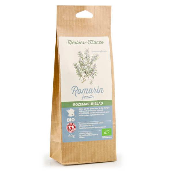 Cook - Herbier de France Infusion de romarin en feuilles bio - Sachet 50g