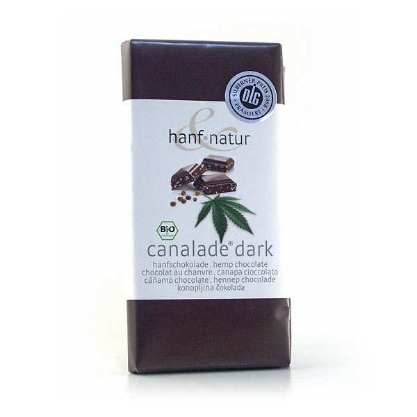Hanf Natur Chocolat noir aux graines de chanvre bio - Tablette 100g