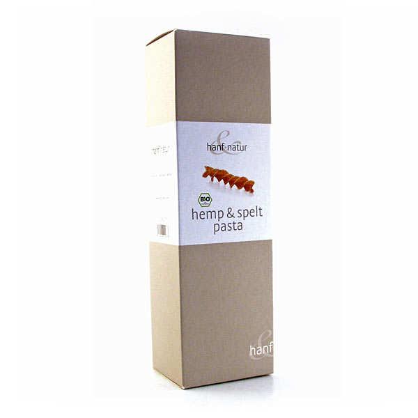 Hanf Natur Pâtes à l'épeautre et aux graines de chanvre bio - Boîte 250g