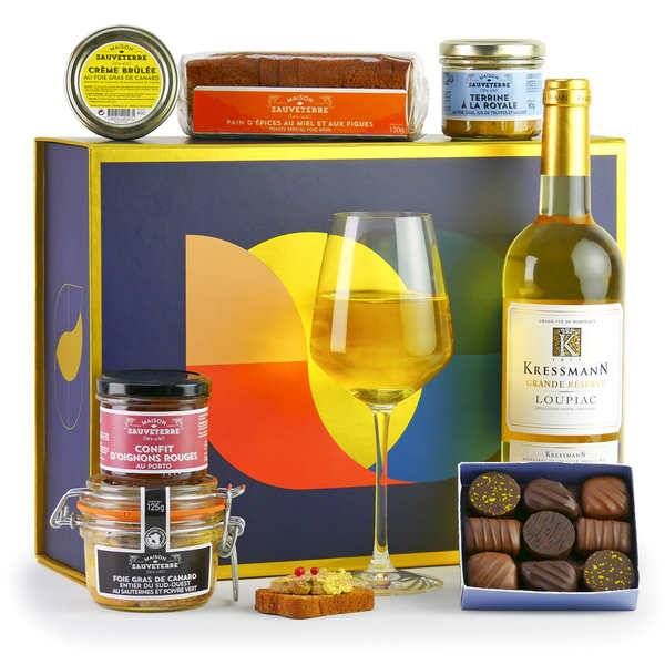 BienManger paniers garnis Coffret Foie Gras Festif - Coffret cadeau gourmand