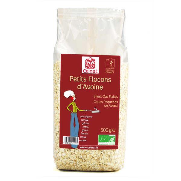 Celnat Petits flocons d'avoine bio - Lot 10 sachets de 500g
