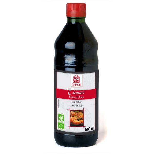 Celnat Tamari - Sauce soja japonaise bio - Bouteille 50cl