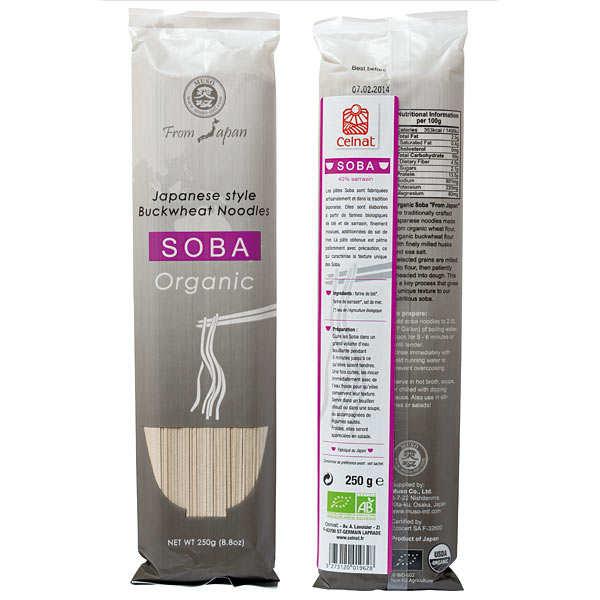 Celnat Pâtes japonaises Soba bio - Lot 3 sachets de 250g