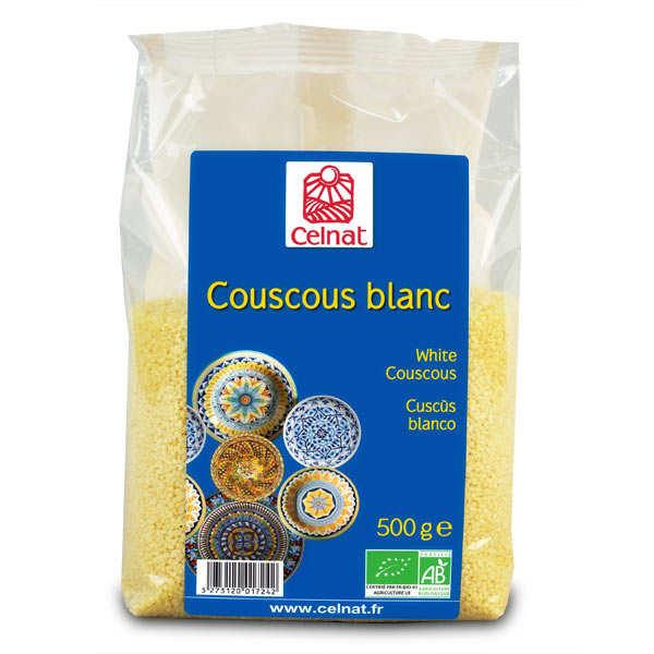 Celnat Semoule Couscous blanc bio - Sachet 500g