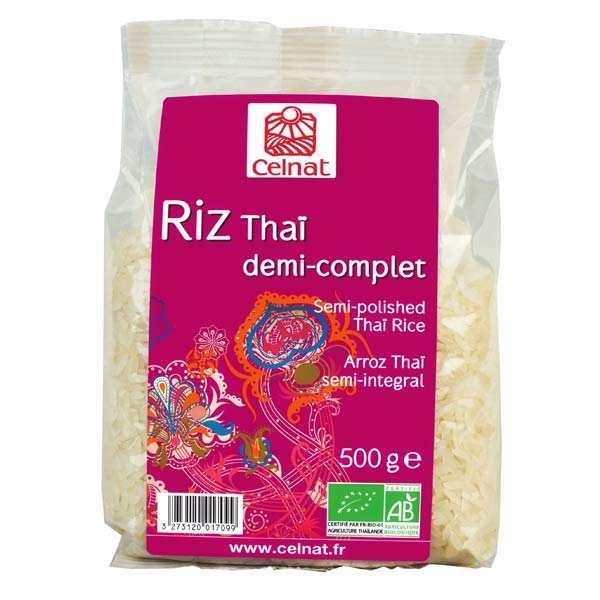 Celnat Riz Thaï demi-complet bio - Sac 3kg