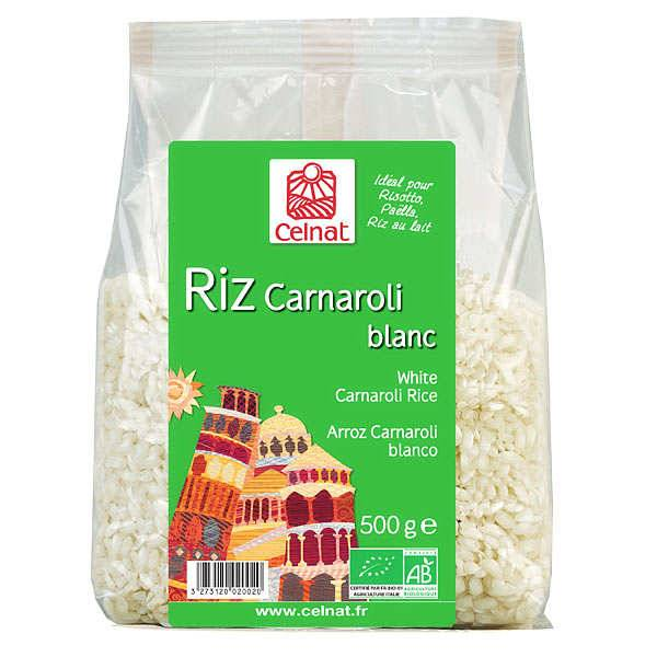 Celnat Riz Carnaroli bio spécial risotto - Sac 3kg