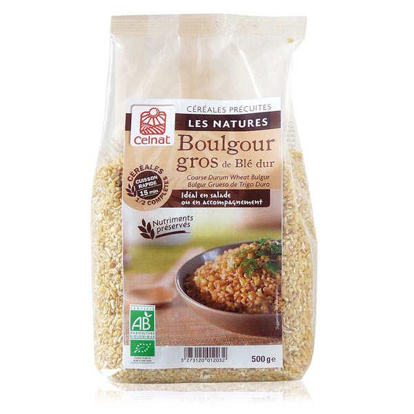 Celnat Boulgour gros bio - Sachet 500g