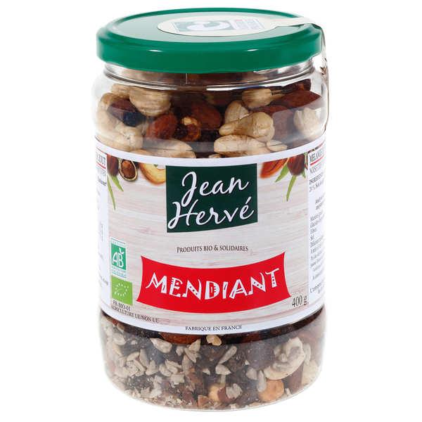 Jean Hervé Mélange apéritif bio sans sel de fruits secs et graines - Pot 400g