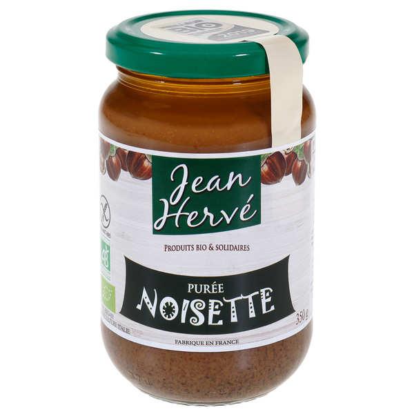 Jean Hervé Purée de noisettes bio - Pot 350g