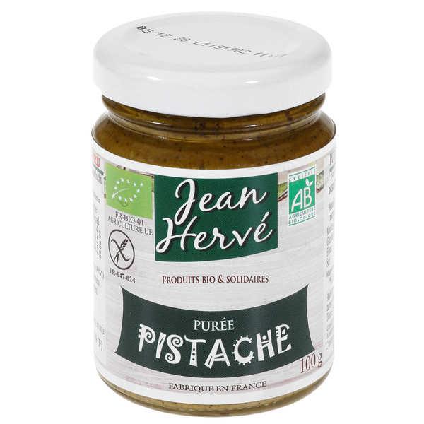Jean Hervé Purée de pistaches bio (purée pur fruit) - Pot 350g