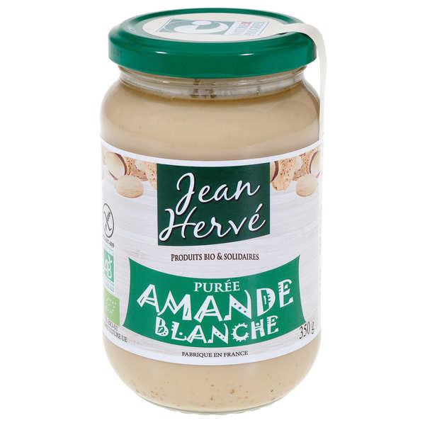 Jean Hervé Purée d'amande blanche bio - Pot 350g