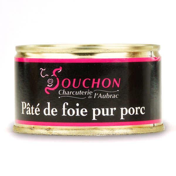 Charcuterie Souchon Pâté de foie pur porc - Boîte 130g