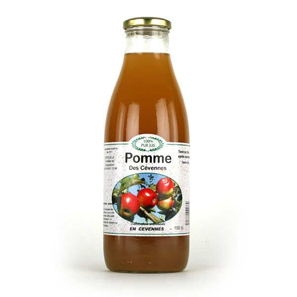 Verfeuille Jus de pommes des montagnes cévenoles - Lot 3 bouteilles de 1L