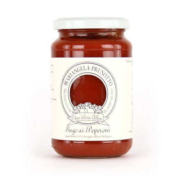 Prunotto Sauce tomate italienne au poivron bio - Bocal 340g