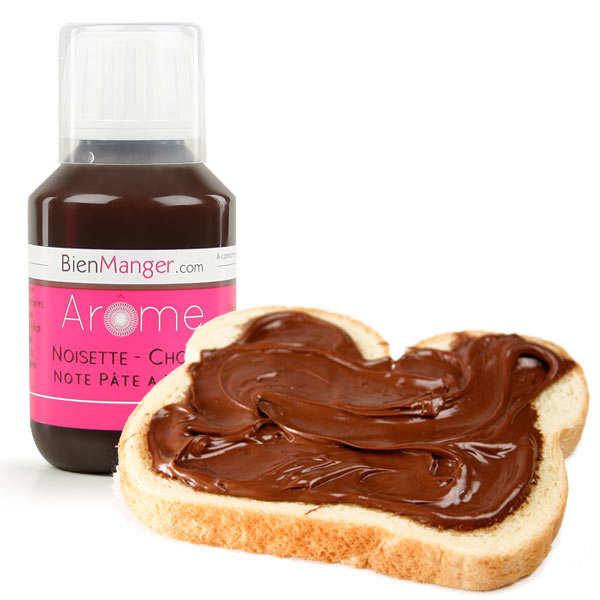 BienManger aromes&colorants Arôme alimentaire de chocolat-noisette (Nut...) - Flacon doseur 115ml