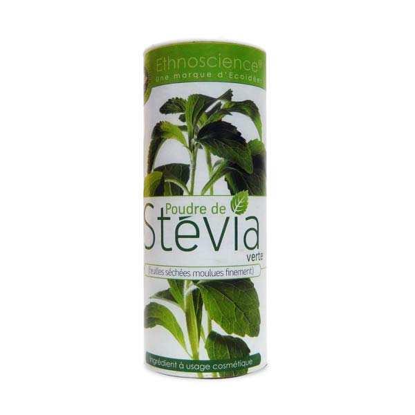 Ethnoscience Stevia verte en poudre - Pot 90g