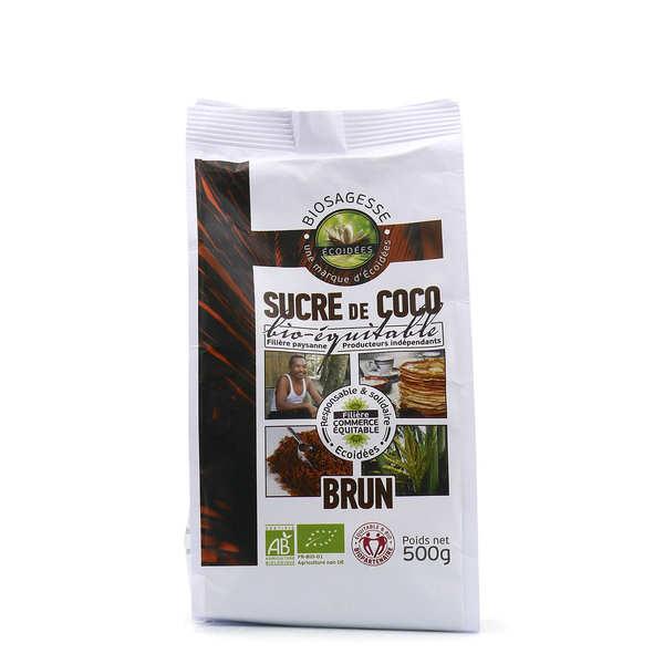 Biosagesse Sucre de fleur de coco bio - 7 sachets zip de 500g