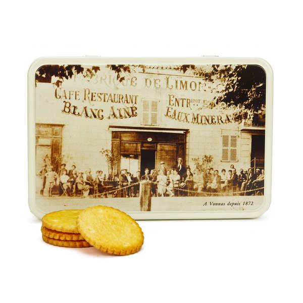 Georges Blanc Galettes pur beurre de Bretagne en boite métal Georges Blanc - Boite métal 300g