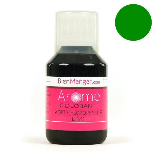 BienManger aromes&colorants Colorant alimentaire naturel vert chlorophylle E141 - Flacon doseur 115ml