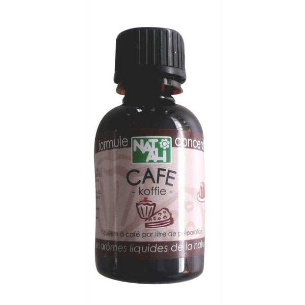 Nat-Ali Arôme naturel de café bio - Flacon 30ml