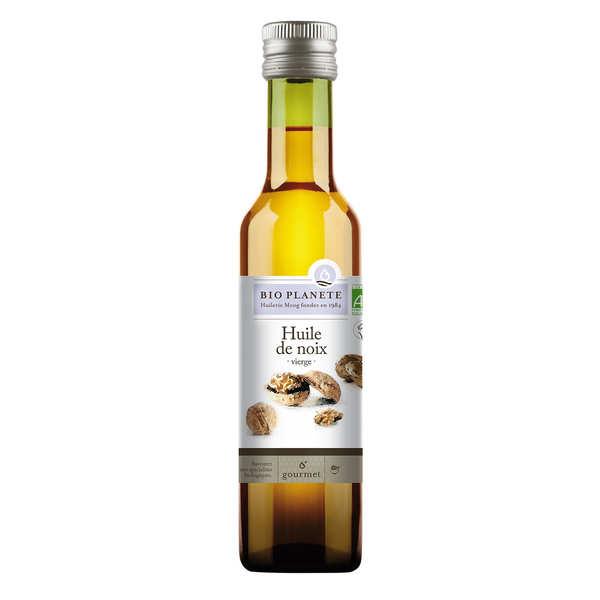 BioPlanète Huile vierge de noix Bio - 3 bouteilles de 25cl