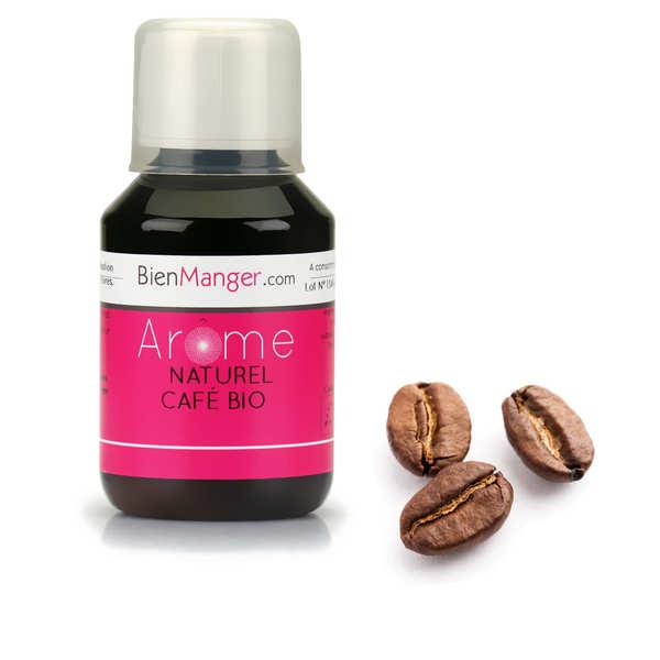 BienManger aromes&colorants Arôme alimentaire de café (Brésil) bio - Flacon doseur 115ml