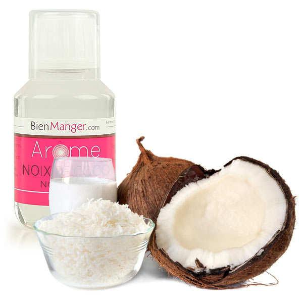 BienManger aromes&colorants Arôme alimentaire de lait de coco - Flacon doseur 115ml