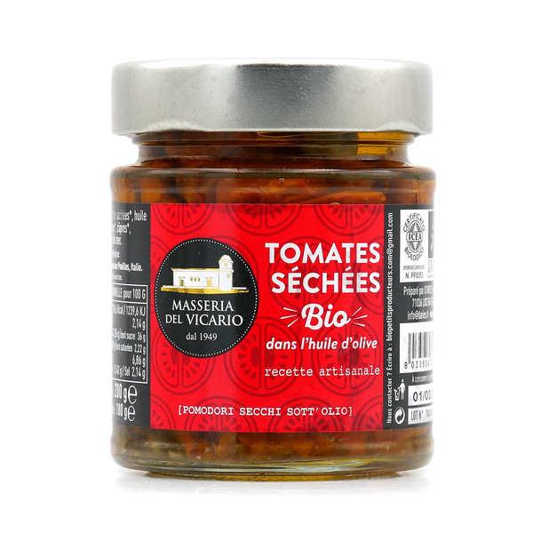 masseria del Vicario Tomates séchées bio dans l'huile d'olive - Pot 180g