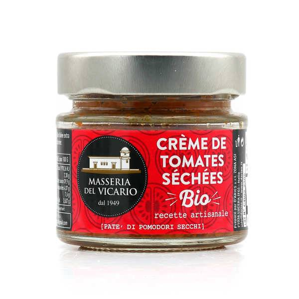 masseria del Vicario Crème de tomates séchées à l'huile d'olive bio - Pate' di pomodori secchi - Pot 130g
