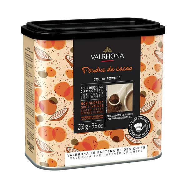 Valrhona Poudre de cacao Valrhona - Lot de 3 boites de 250g
