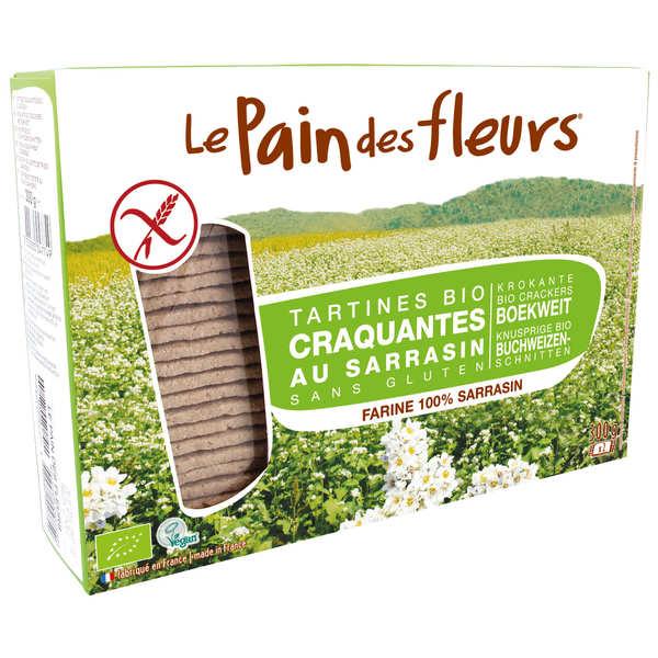 Le Pain des Fleurs au sarrasin bio - sans gluten - 8 paquets de 300g