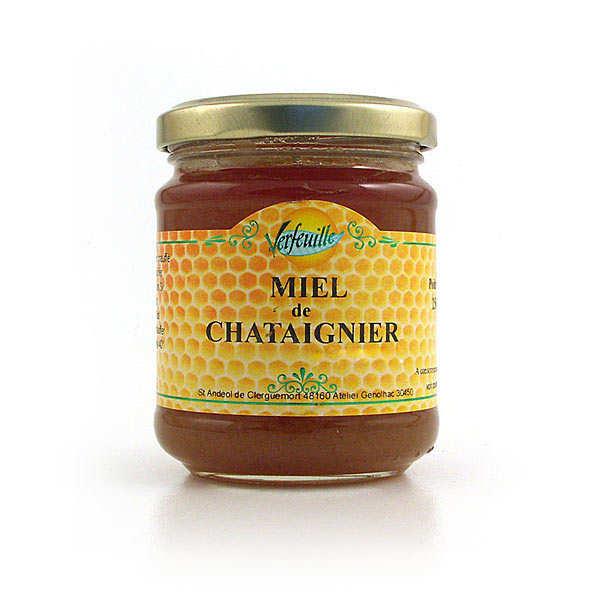 Verfeuille Miel de châtaignier de Lozère (Cévennes) - Bocal 250g