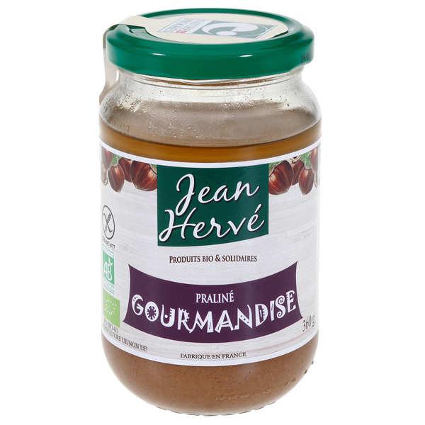 Jean Hervé Crème de praliné à la noisette Gourmandise - Pot 360g