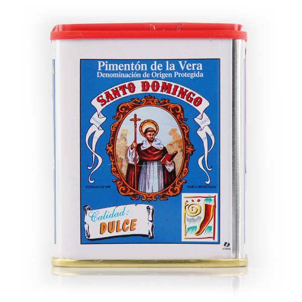 Santo Domingo Paprika doux espagnol traditionnel - Pimenton de la Vera - 2 boites de 75g