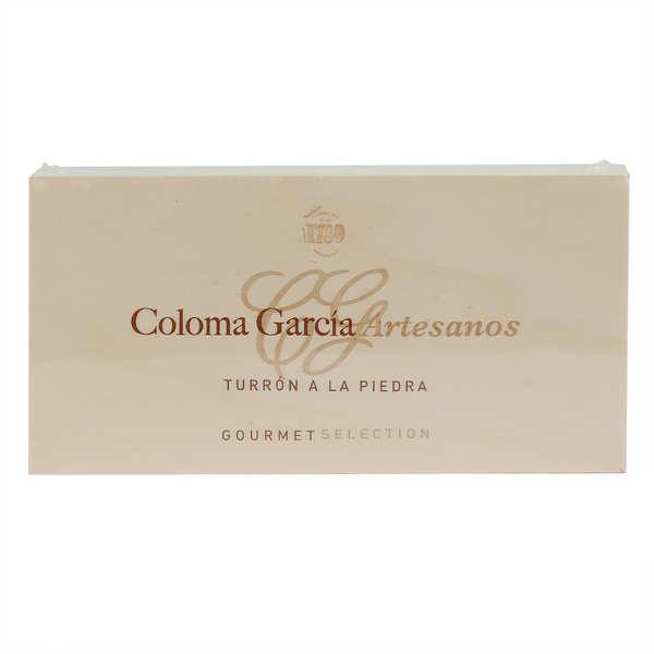 Coloma Garcia Artesanos Touron artisanal à la meule de pierre (Turrón a la piedra) - Turrón 300g