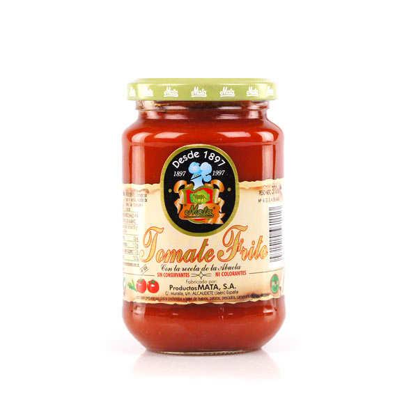 Mata Sauce tomate espagnole concentrée Tomate Frito Mata - Bocal 370g