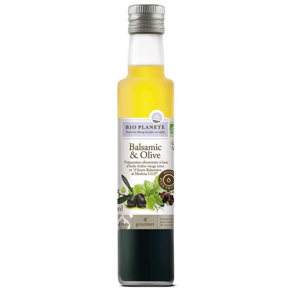 BioPlanète Balsamic et Huile d'olive - Bio - 3 bouteilles de 250ml