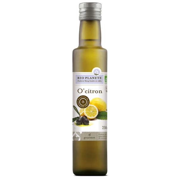 BioPlanète Huile d'olive et citron - o'citron bio - 3 bouteilles de 250ml
