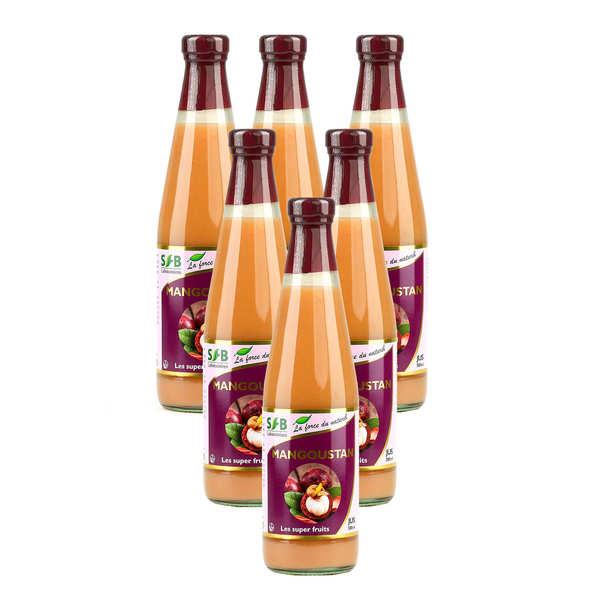 Laboratoire SFB Pur jus de Mangoustan Bio 6 bouteilles promo - Lot 6 bouteilles - 5 + 1 offerte