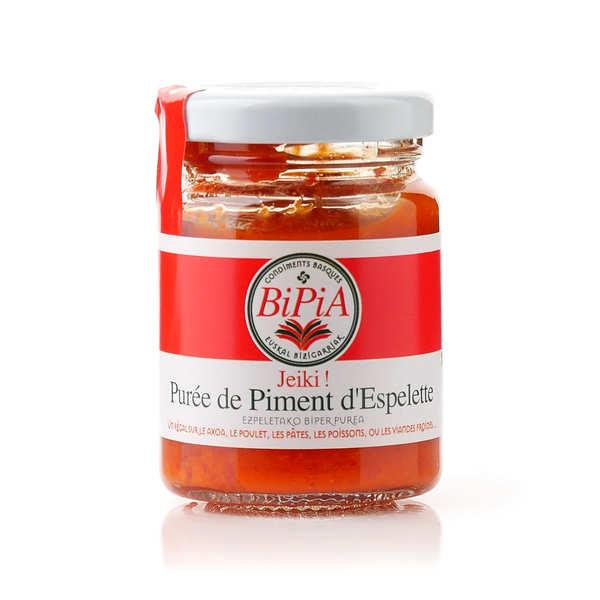BiPiA Jeiki - purée de piment d'Espelette - 3 bocaux de 90g
